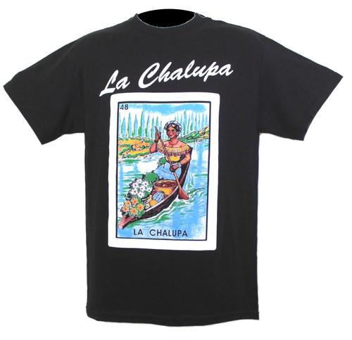 48 La Chalupa Mexican Loteria T Shirt