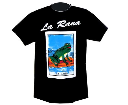 54 La Rana Mexican Loteria T Shirt