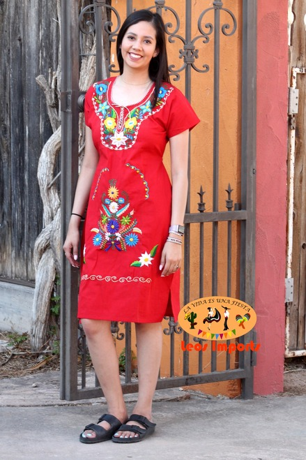 mexican dress moni