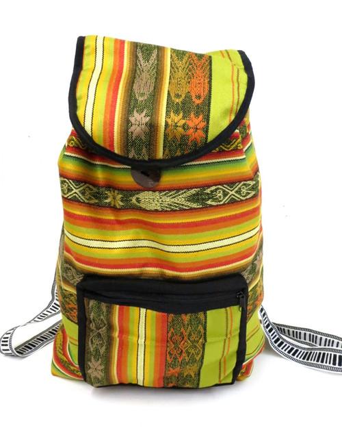 Ecuador Backpack (Yellow)