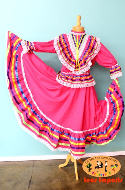 mexican dress vestido jalisco