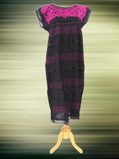 Mexican Dress on Loom One Size Vestido Telar