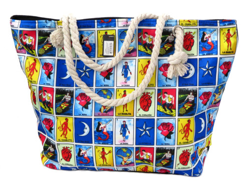 mexican loteria bag