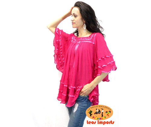 Angelita Hot Pink Blouse