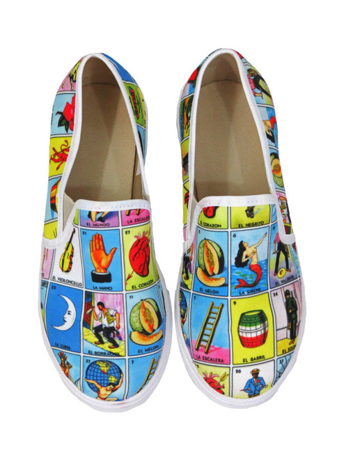 Loteria classic slip on shoes