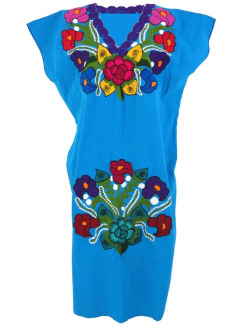 Aqua Estela Dress