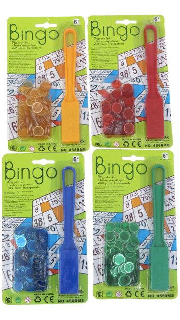 4 pack bingo chip