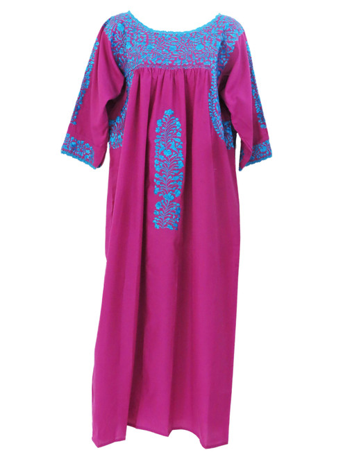 San Antonio 3/4 sleeve Dress Electric Purple