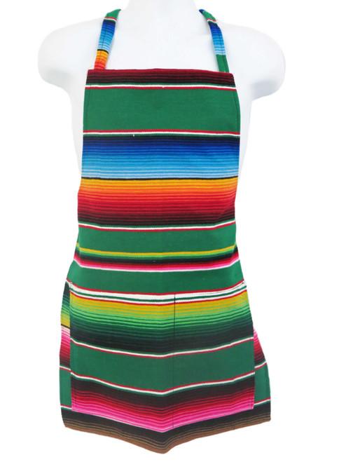 mexican serape apron