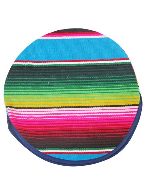 Aqua mexican tortilla holder