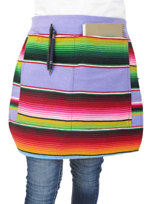 serape waist apron