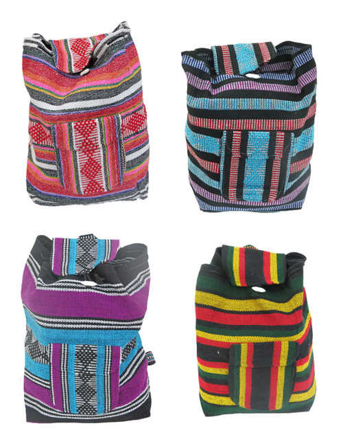 ethnic backpack