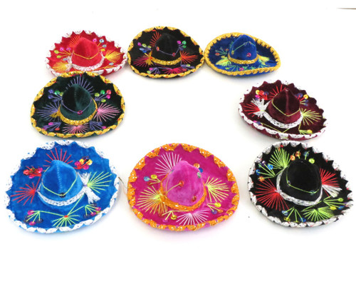 mexican hat sombrero mini party decor