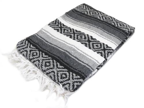 mexican grey falsa blanket
