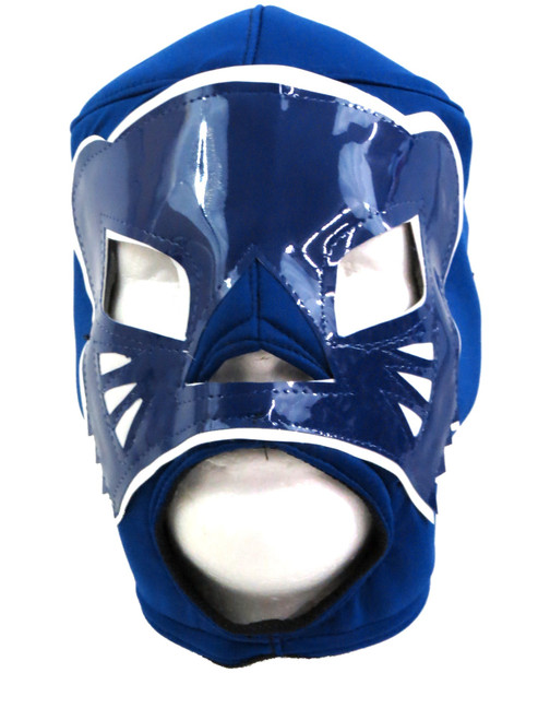 blue panther mask