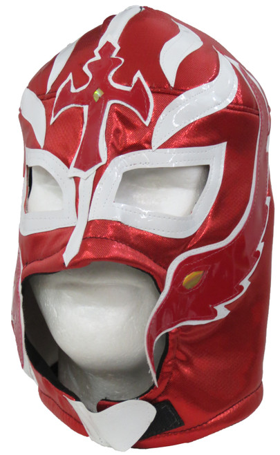 Rey Mysterio Adult Lucha Libre Wrestling Mask - Red
