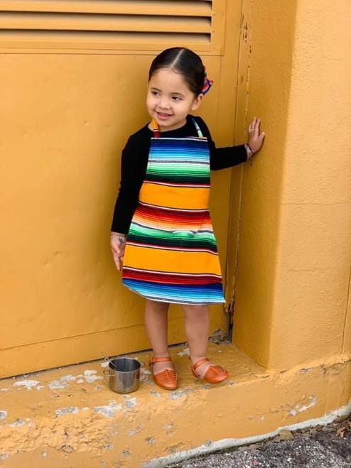 Kids Mexican Serape Apron