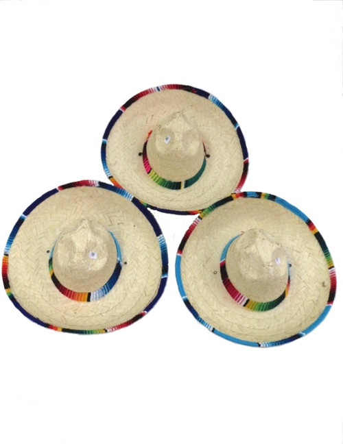Kids sarape straw hat