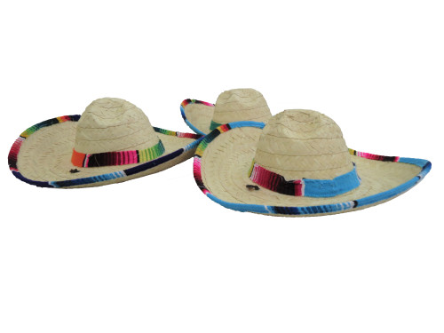 mexican straw hat kids