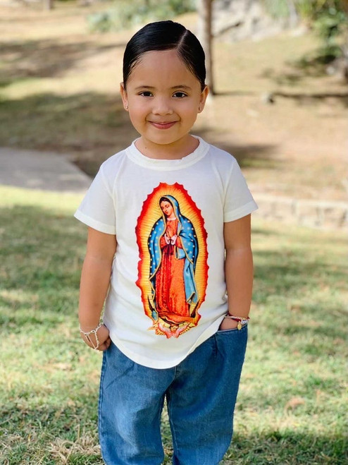 lady of guadalupe shirt for girls