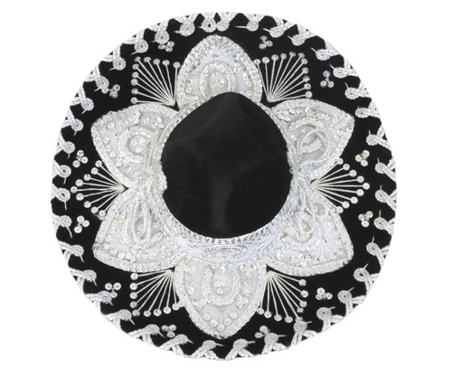 black mariachi charro hat for kids