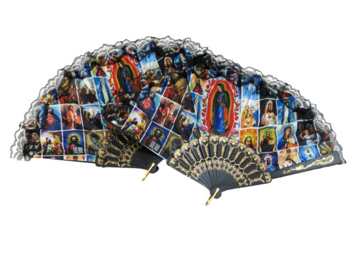 Guadalupe Fans 2pack