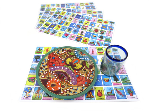 4 pack loteria placemats