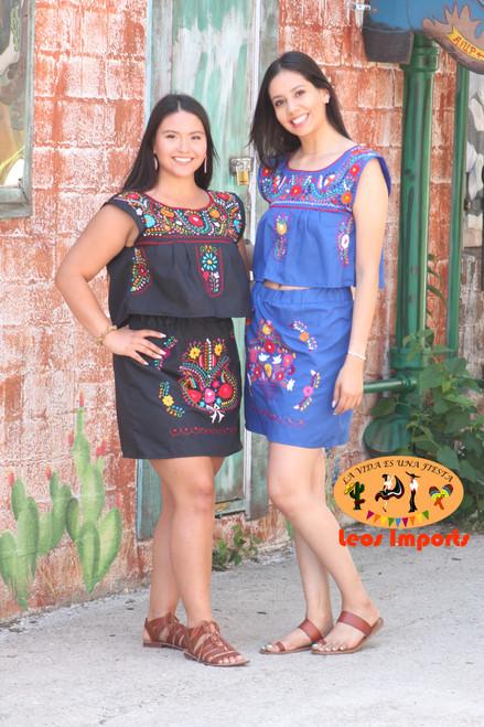 mexican crop top