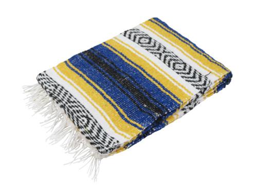 Blue & Gold Falsa Blanket