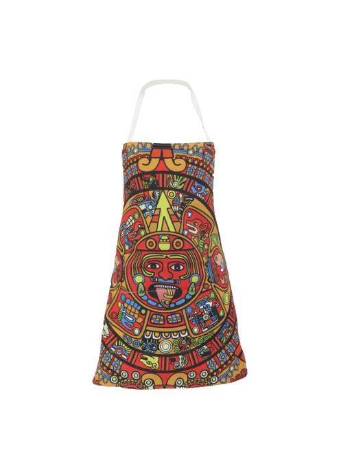 Aztec Calendar Apron