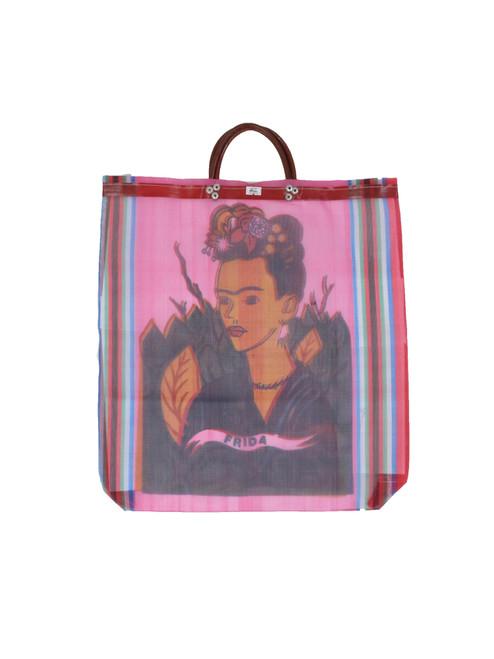 Pink Frida Mesh Bag