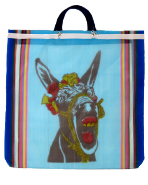 Burro Mesh Bag Blue