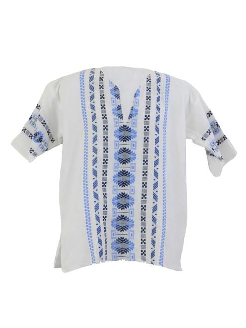 White Chiapas Embroidered Shirt
