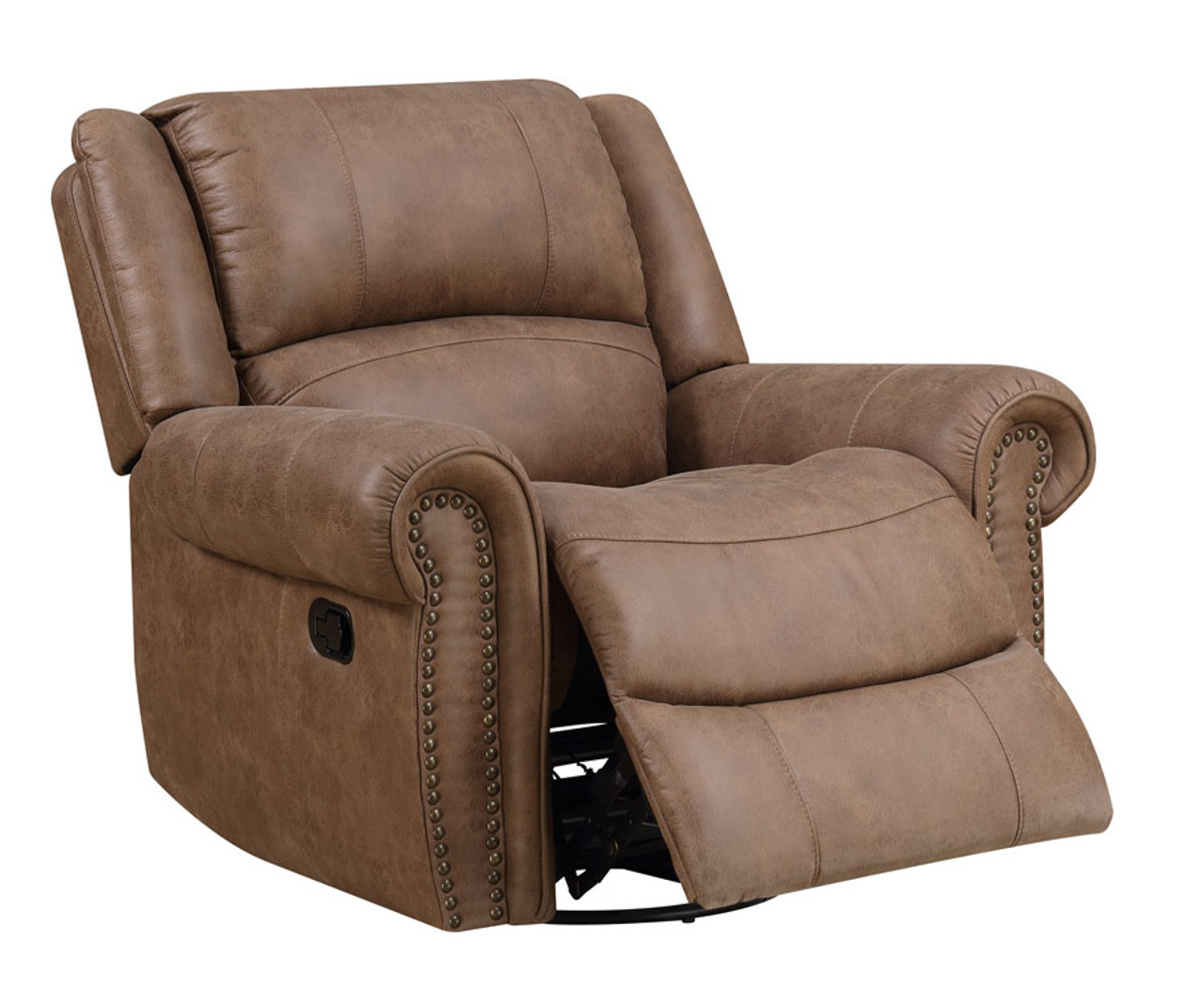 Wondrous Emerald Spencer Saddle Swivel Glider Recliner Caraccident5 Cool Chair Designs And Ideas Caraccident5Info