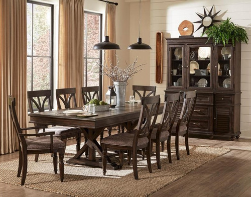 The Home Elegance Cardano Dining Table Sold At Cramer S Furniture