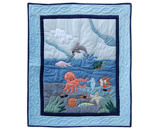 Sea Friends Baby Quilt