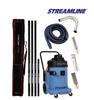 StreamVac Complete Gutter Vacuum Carbon Fibre System 30L