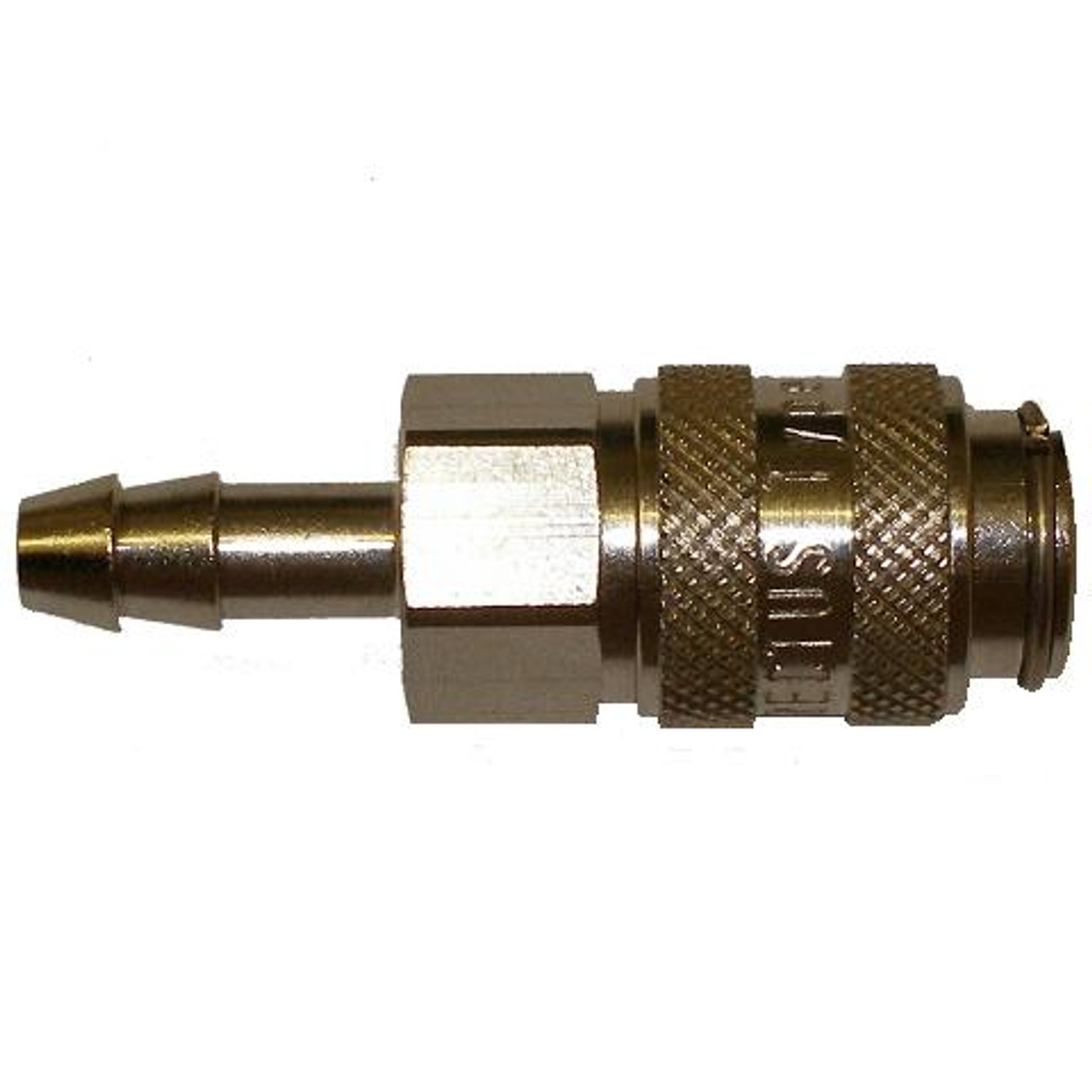 Coupler 6mm - Steel Hosetail Rectus
