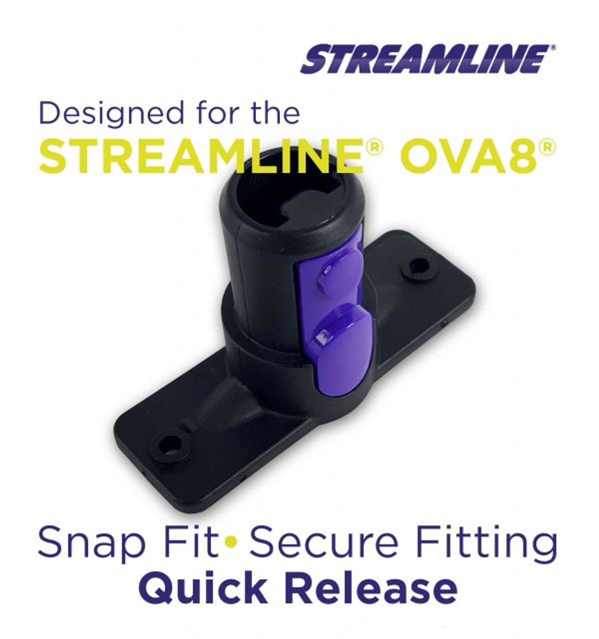 STREAMLINE® OVA8® Waterfed Pole Brush Socket – 90 DEGREE