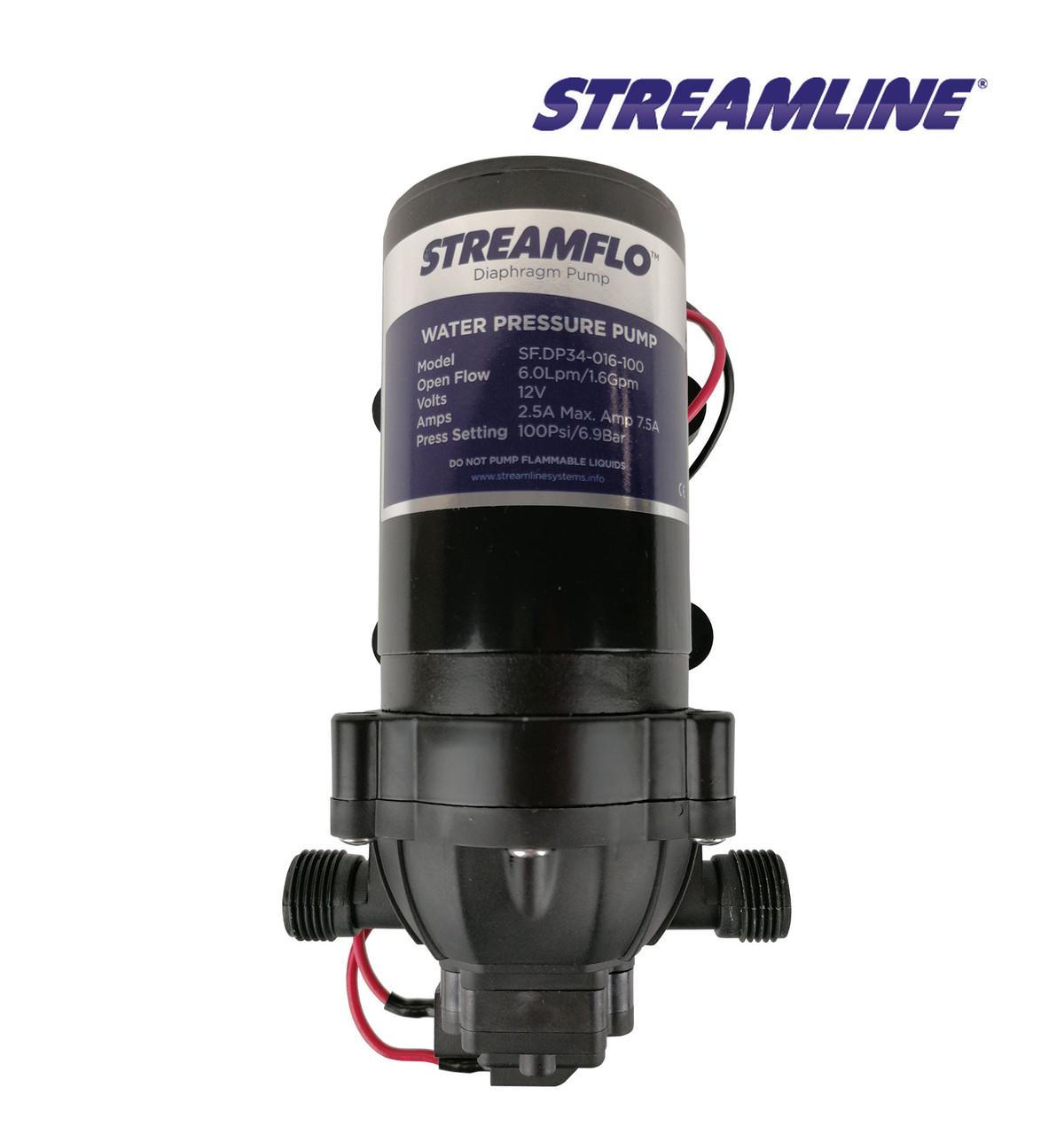STREAMFLO™ 12V 100psi Pump 6Lpm