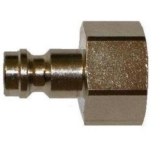 Plug 1/4in - Steel Female Thread