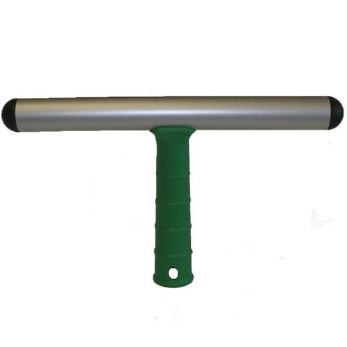 Lightweight solid aluminium T-bar with plastic handle