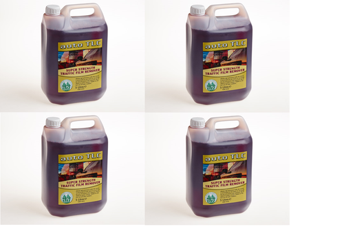 Super Strength Traffic Film Remover 4 x 5L