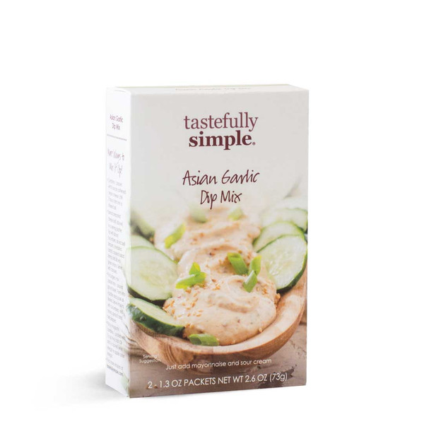 Asian Garlic Dip Mix Package