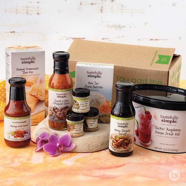 Taste the Tropics Kit Products Displayed