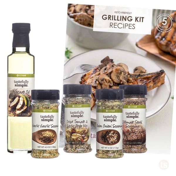 Grilling Meal Kit Displayed