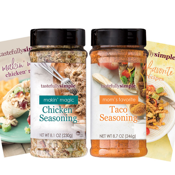 Makin Magic Chicken Duo SS21 Seasonings Displayed