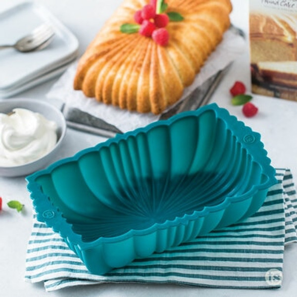 Blue Silicone Loaf Pan