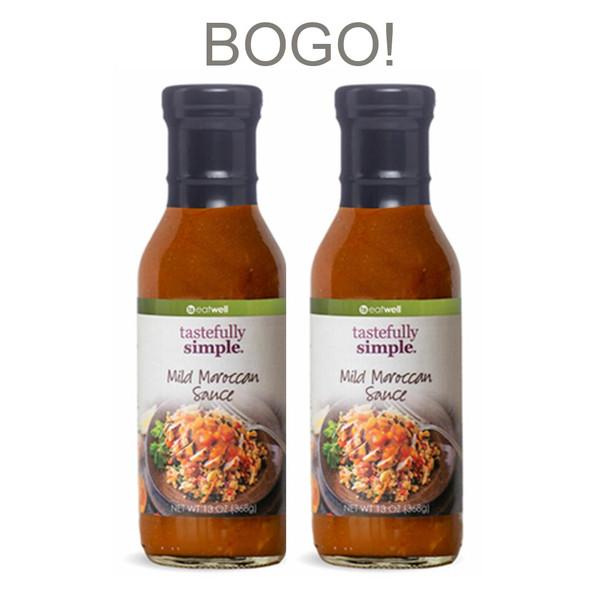 Mild Moroccan Sauce BOGO Sauce 2 Bottles