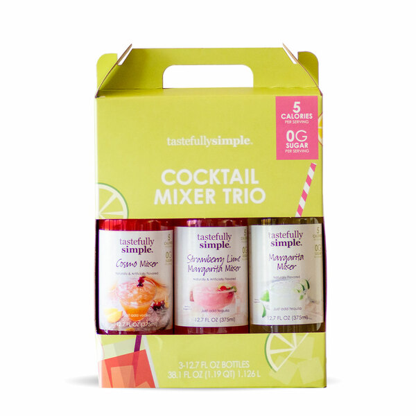 Cocktail Mixer Trio Packaging
